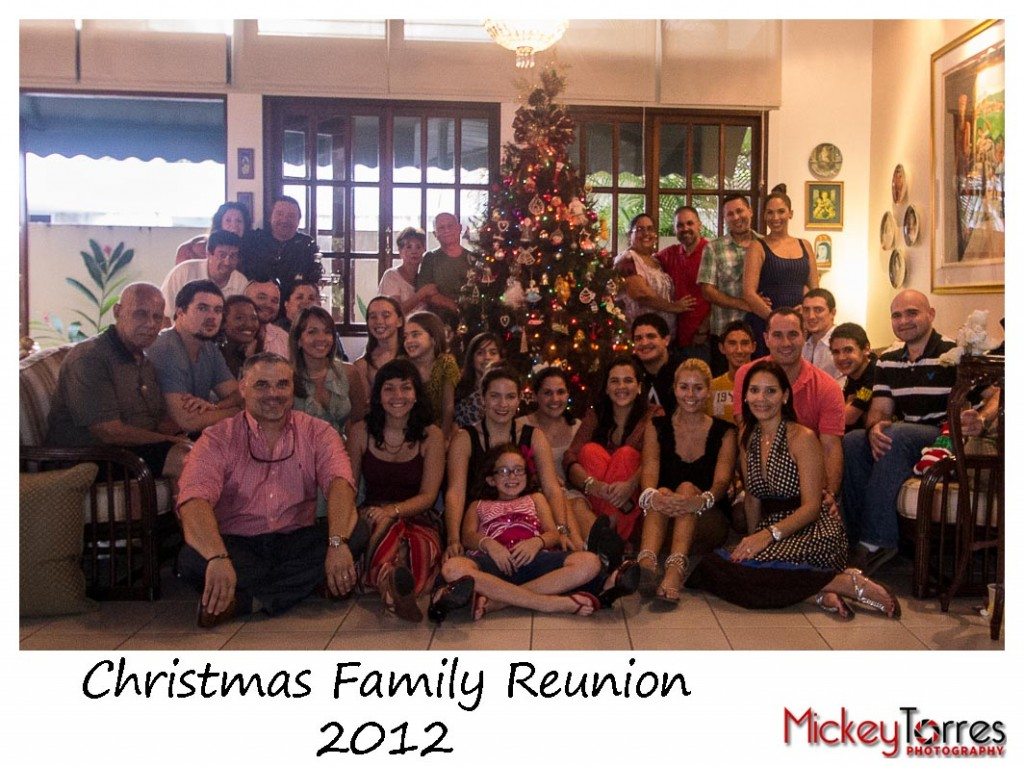 Christmas Family Reunion 2012.