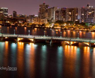 Dos Hermanos Bridge, in Condado, PR.
